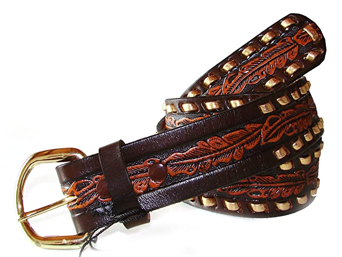 bellissimo aspetto confrontare il prezzo acquisto economico Cintura EL CHARRO Vintage E194 Gold (115/130): Amazon.it ...