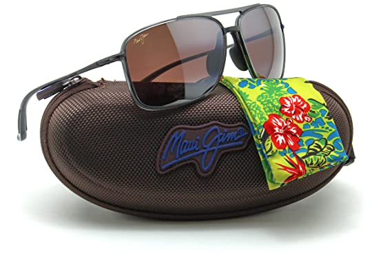 118c06d7f0 Maui Jim R437-11 KAUPO GAP Polarized Sunglasses Maui Rose Lens   Amazon.co.uk  Clothing