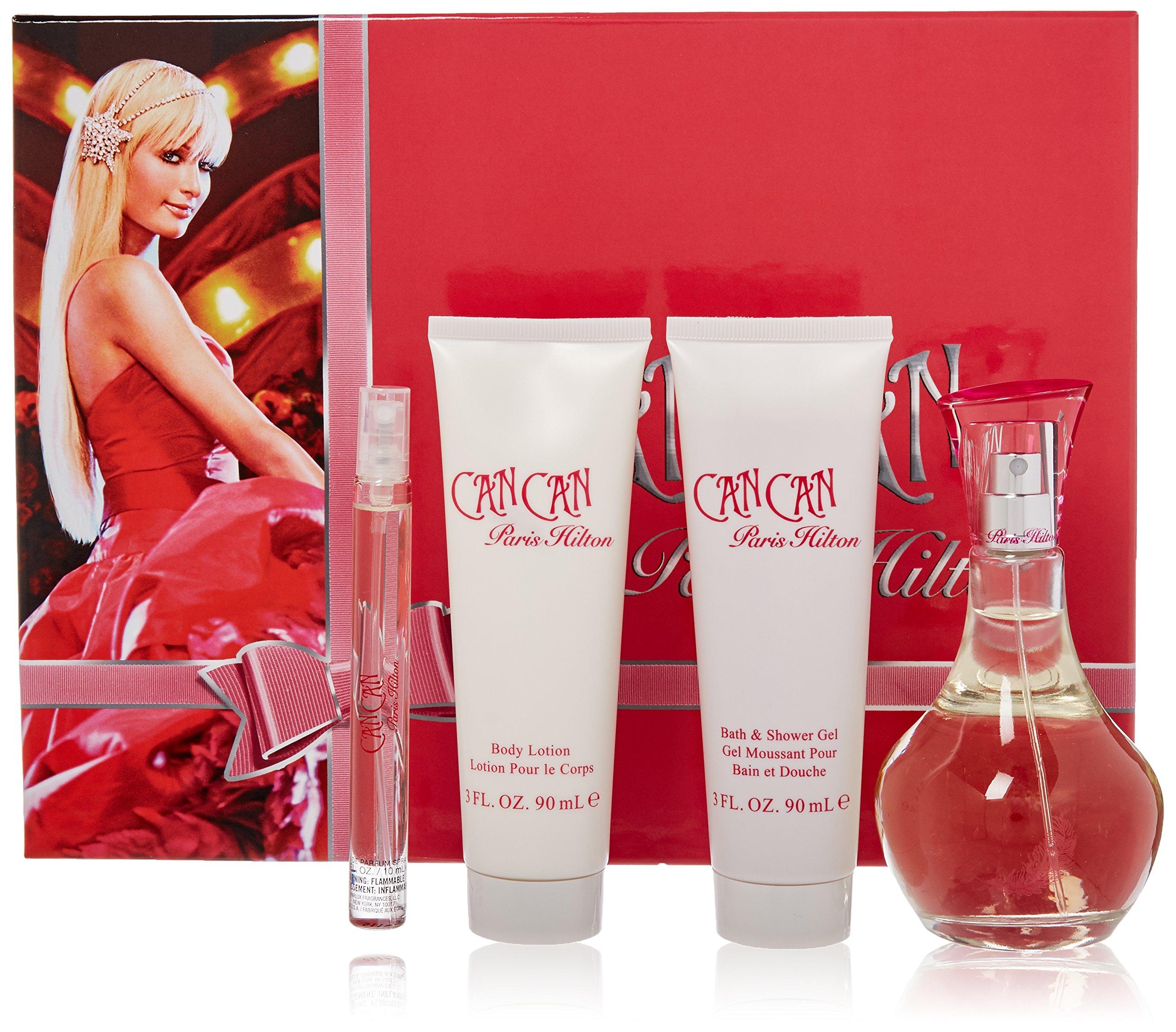 Paris Hilton Can Can Fragrance Set, 4 Count