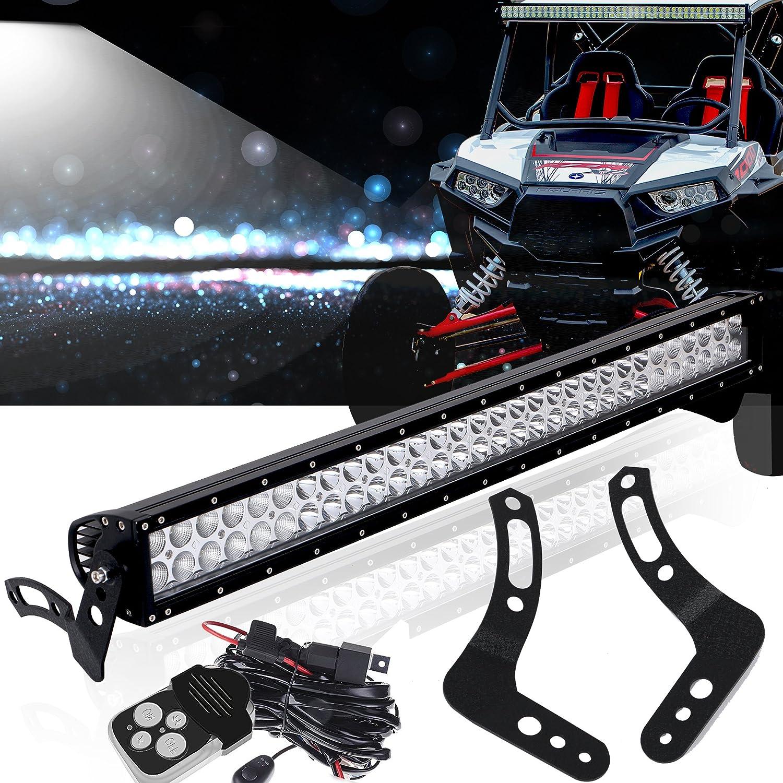 """For 13-16 Polaris RZR XP1000/900 30"""" LED Light Bar+Mounting Bracket+wiring  kit"""