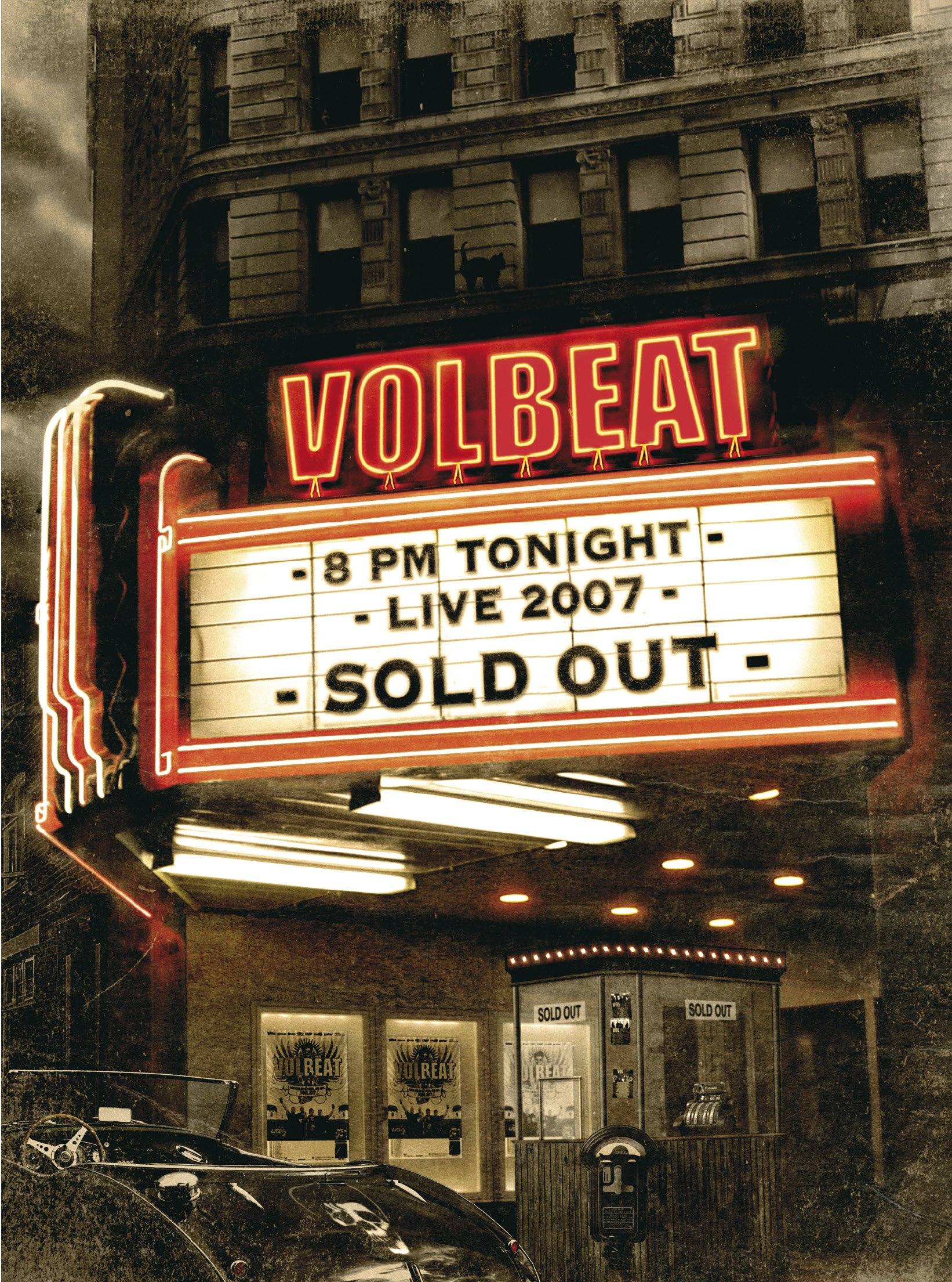 DVD : Volbeat - Live - Sold Out! 2007 (2 Disc)