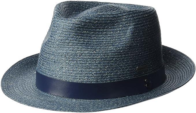 c5a2063f2c4d4 Kangol Men s Waxed Braid Trilby Fedora Hat at Amazon Men s Clothing ...