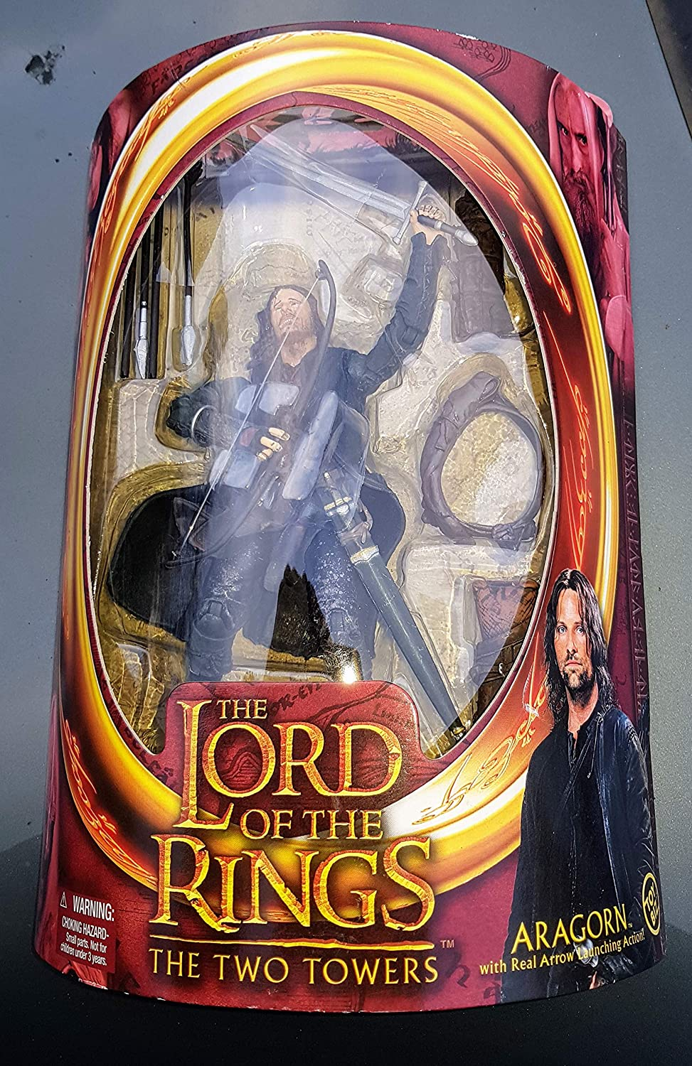 Lord of the Rings The Two Towers ARAGORN 6 Action Figure Toy Biz SG/_B000VI3E36/_US 2002 ToyBiz