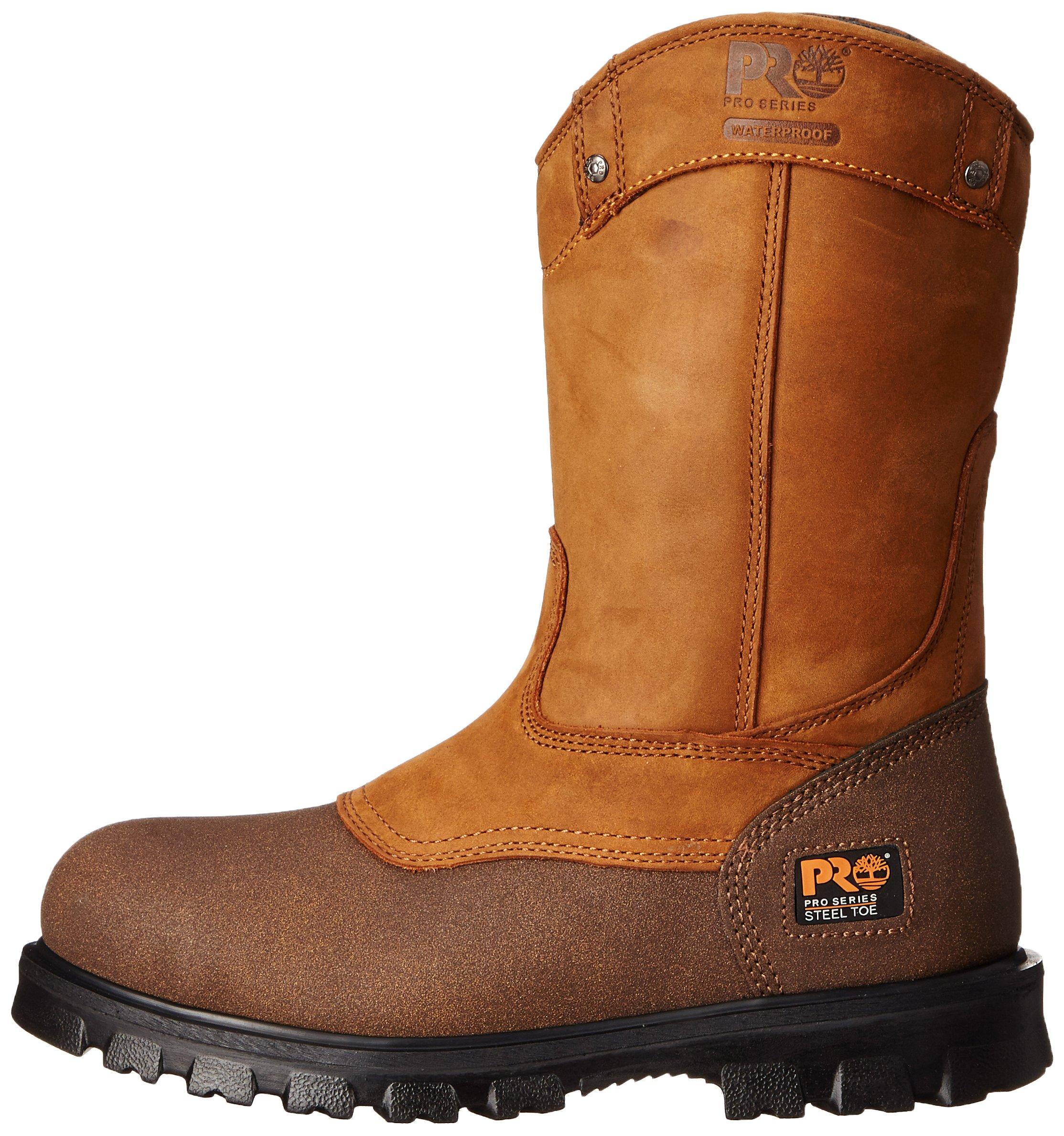 Timberland PRO Men's Rigmaster Wellington Work Shoe,Wheat Bandit,8.5 W US by Timberland PRO (Image #5)