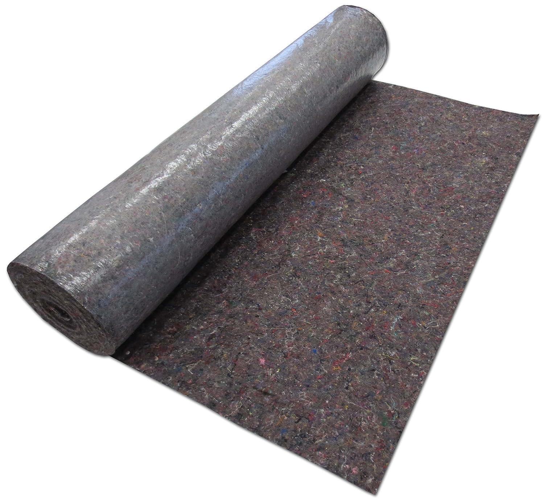 Tela de fieltro para protecció n de pintura (1 x 50 m, 50 m² , 180 g, polietileno) 50 m² Ingbertson