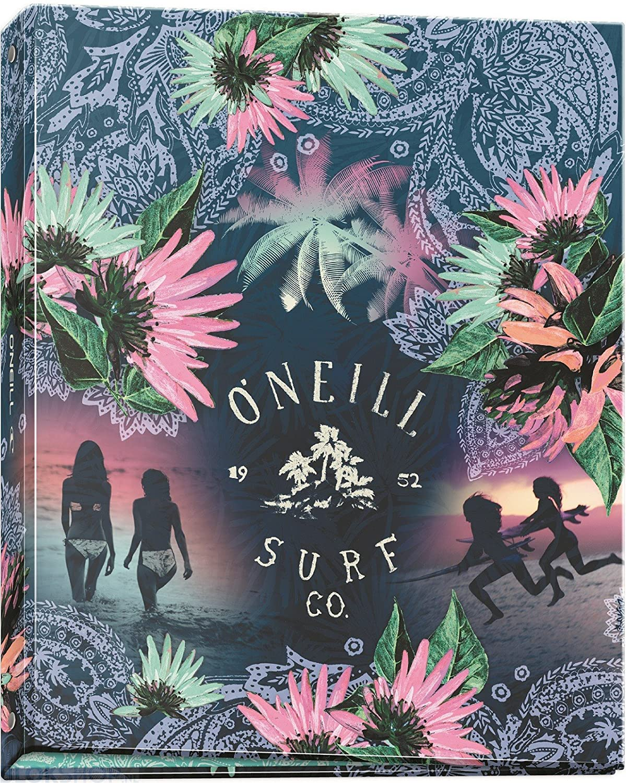 O Neill - 1 archivador rígido A4, lomo 40 mm 4 Anillos - Girls - Visual aleatorio: Amazon.es: Oficina y papelería
