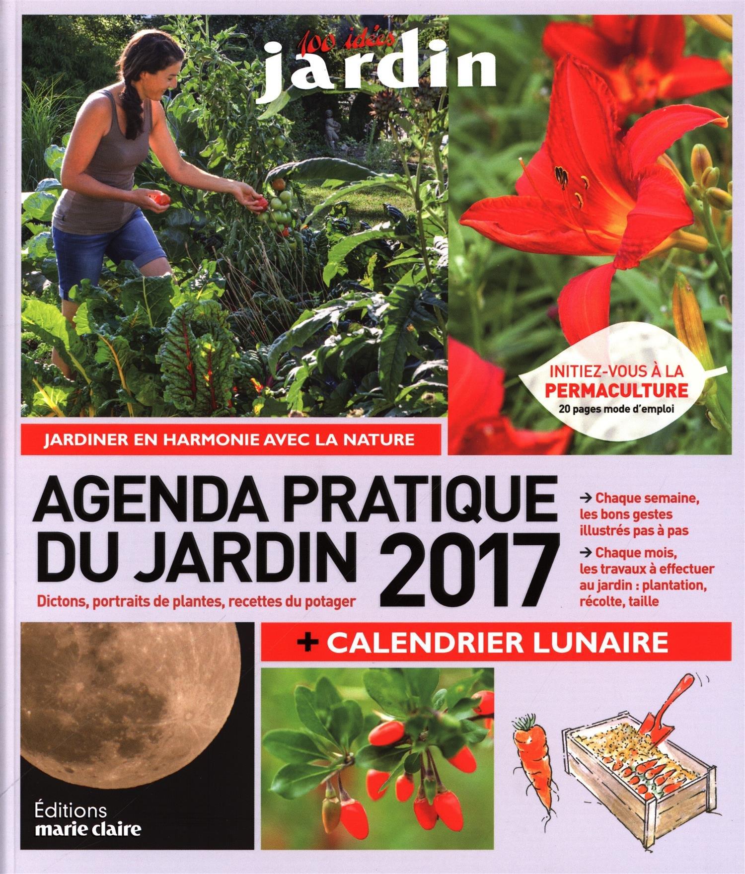 Amazon Agenda du jardin 2017 Philippe Bonduel Sandra