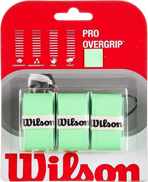 Wilson Pro Overgrip - Juego de 3 grips para raqueta de tenis ...