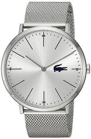 dda7b843107 Buy Lacoste Men s  Moon  Quartz Stainless Steel Casual Watch
