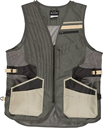 Allen Shot Tech Shooting Vest, Holds 4 Types of Shells