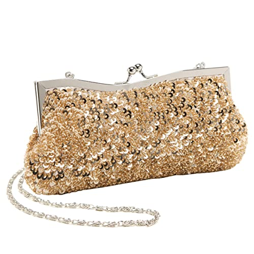 MG Collection - Cartera de mano mujer , color Beige, talla One Size