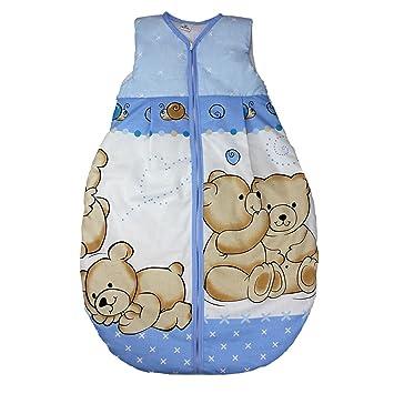 Babyschlafsack Kinderschlafsack Schlafsack ohne Ärmel Reißverschluß 110cm Eulen