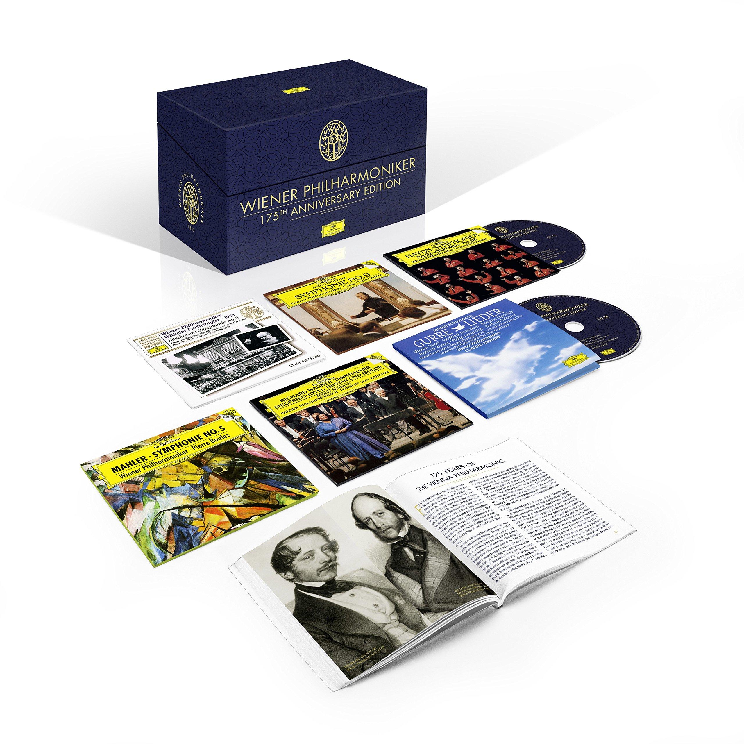 Wiener Philharmoniker 175th Anniversary Edition [44 CD/DVD] by Deutsche Grammophon