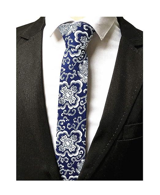 Amazon.com: Corbata de cuello para hombre de porcelana con ...