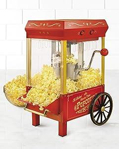 Nostalgia KPM508 Vintage 2.5-Ounce Kettle Popcorn Maker