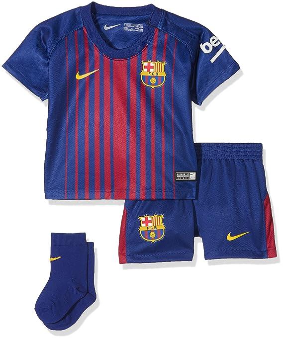 Nike FCB I Nk BRT Chándal De Fútbol, niños, Azul (Deep Royal Blue ...