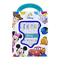 Disney Baby Mickey Mouse, Minnie, Toy Story and More! - My First Library Board Book...