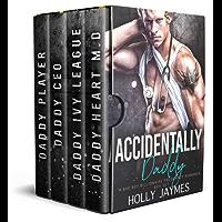Accidentally Daddy: A BAD BOY BILLIONAIRE PREGNANCY ROMANCE BOX SET (English Edition)