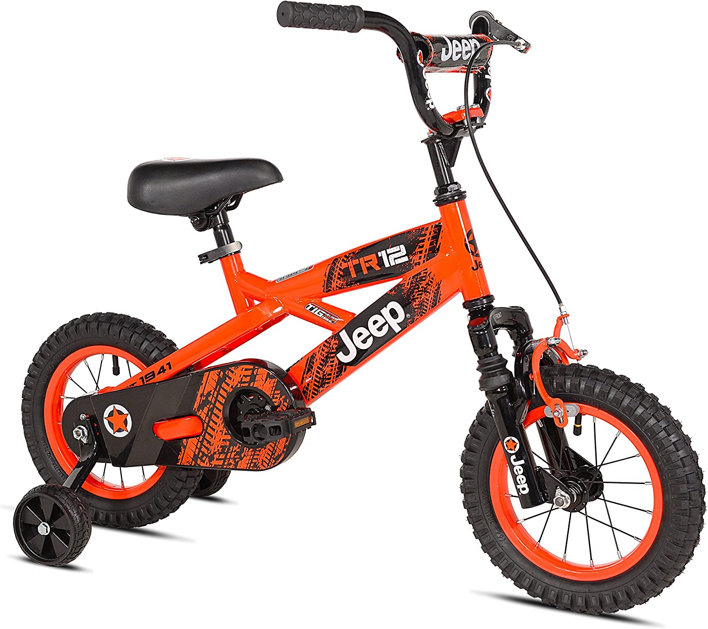 Jeep Boy S Bike 12 Inch Orange Black Amazon Ca Sports Outdoors