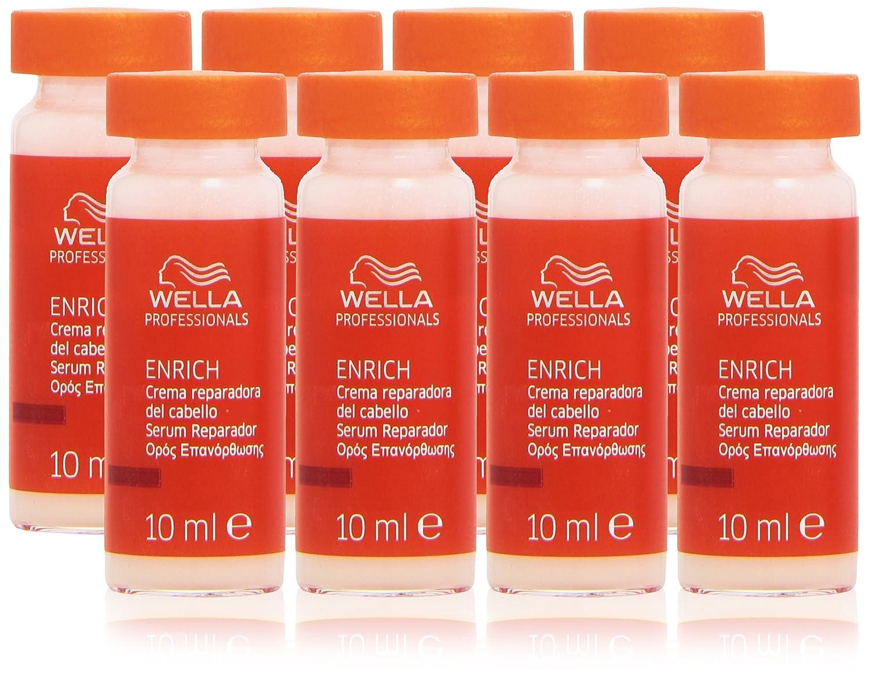 Wella - Enrich - Crema reparadora del cabello - 8 ampollas x 10 ml Wella Professionals 3607342798908 4015600122959_Blanco