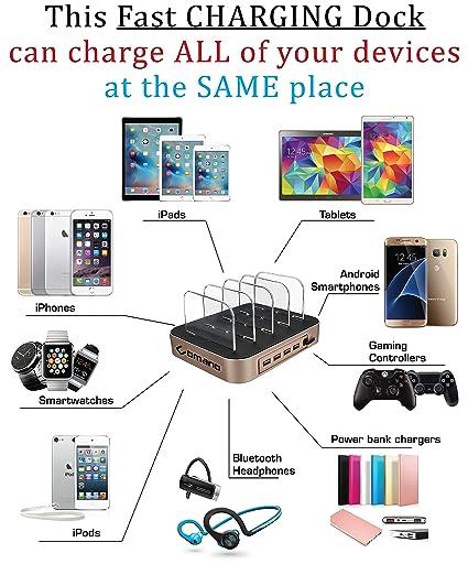 Amazon.com: 100% ORIGINAL And USA Patent FAST [34W] Charging ...
