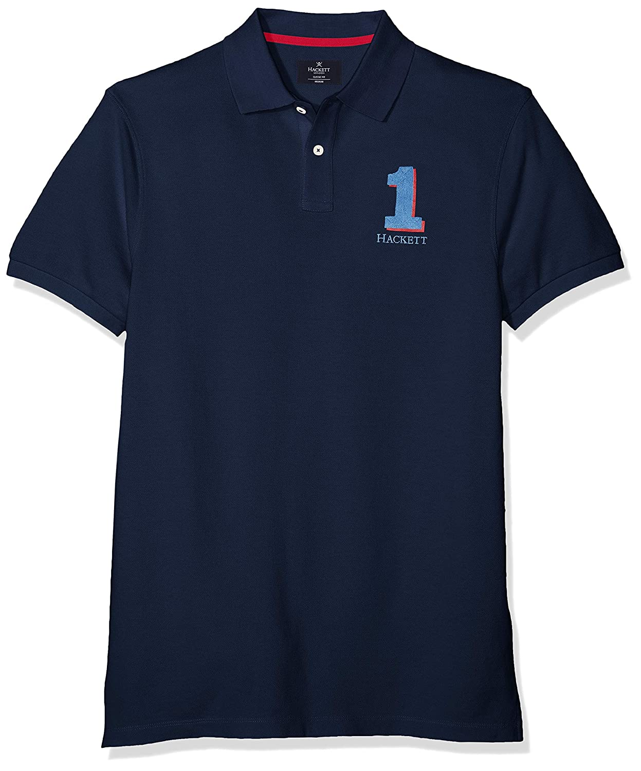 Bleu (Navy 595) XL Hackett London nouveau Classic Polo Homme