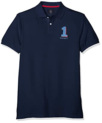 4934af1f Hackett London Men's New Classic Polo Shirt: Amazon.co.uk: Clothing