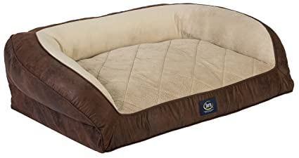 Incredible Serta Ortho Quilted Couch Pet Bed Uwap Interior Chair Design Uwaporg