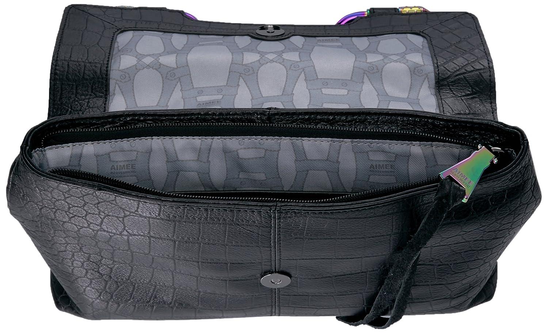 Aimee Kestenberg Phoenix Convertible Shoulder Bag, Black: Handbags ...