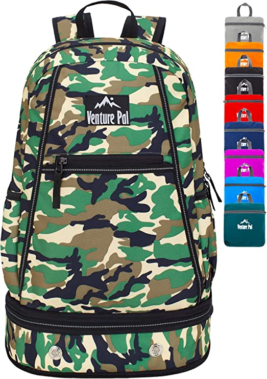 Venture Pal backpack comes in all the popular sizes