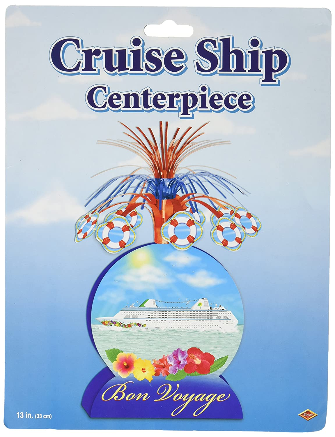 Cruise Ship Centerpiece Party Accessory (2-Pack)