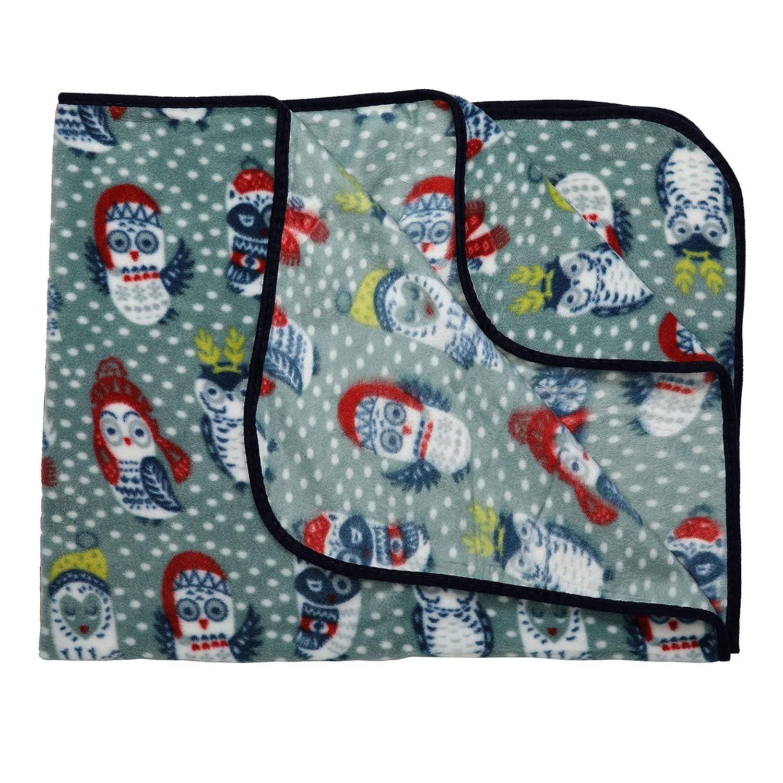 LuvLap Soft Flannel Baby Blanket