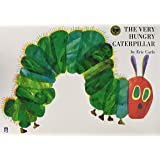 The Very Hungry Caterpillar 大判英語絵本とmpiオリジナルCD付き