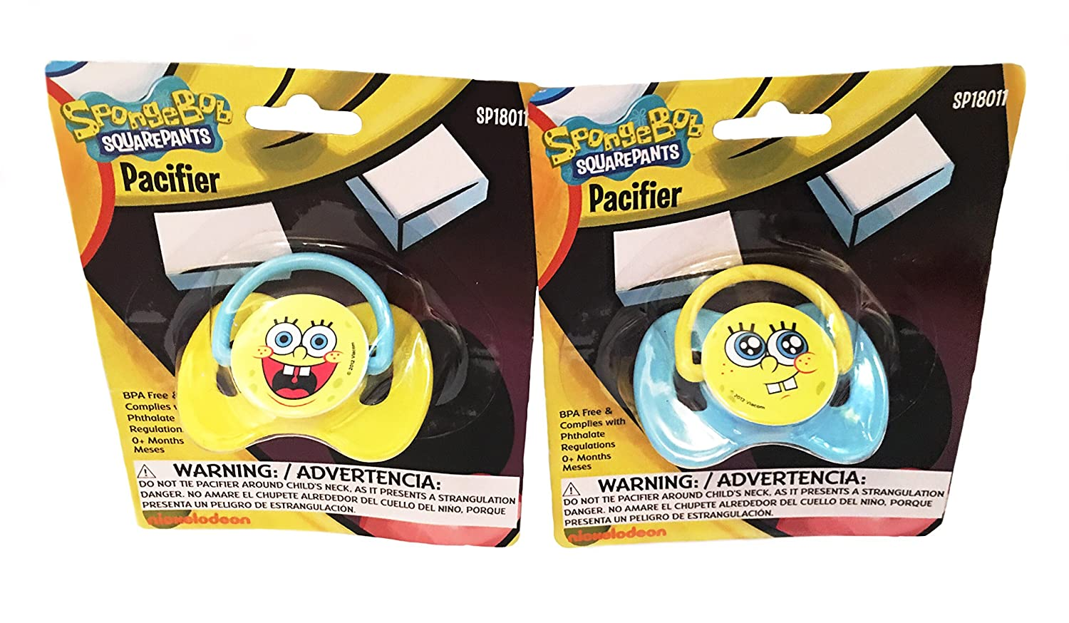 Amazon.com : Nickelodeons SpongeBob SquarePants Baby Feeding Set : Baby