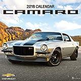 Camaro 2018 Wall Calendar