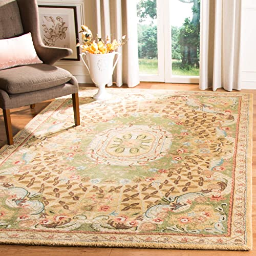 Safavieh Classic Collection CL304D Handmade Traditional Oriental Premium Wool Area Rug