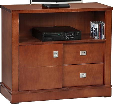 G2 Mesa TV pequeña, Cerezo, 73.0x83.0x35.0 cm: Amazon.es: Hogar
