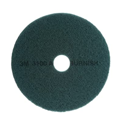 3M Aqua Burnish Pad 3100, 21 in: Industrial & Scientific