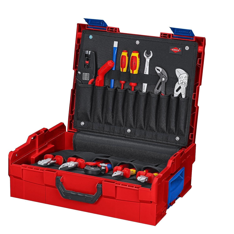 クニペックス (KNIPEX) プライヤーセット KNIPEX 002119LBS メンテナンス用ツールセット L-Boxx入 002119LBS B06X94RZR8