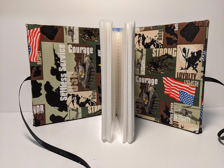 United States Army Custom Photo Album Personalize Holds 100 4x6 Photos