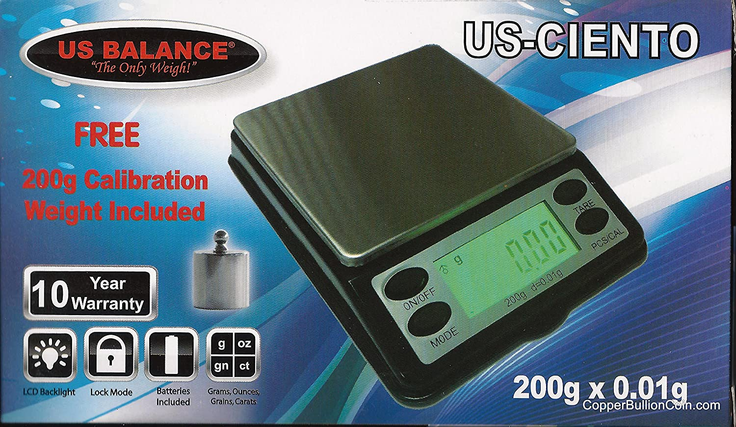 669cc71e952a Amazon.com : Best Quality US Balance 200g X .01g Digital Scale. US ...
