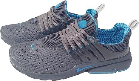 Nike Air Presto humillo azul tamaño Mens 8,5 zapatillas Shox zapatos: Amazon.es: Deportes y aire libre