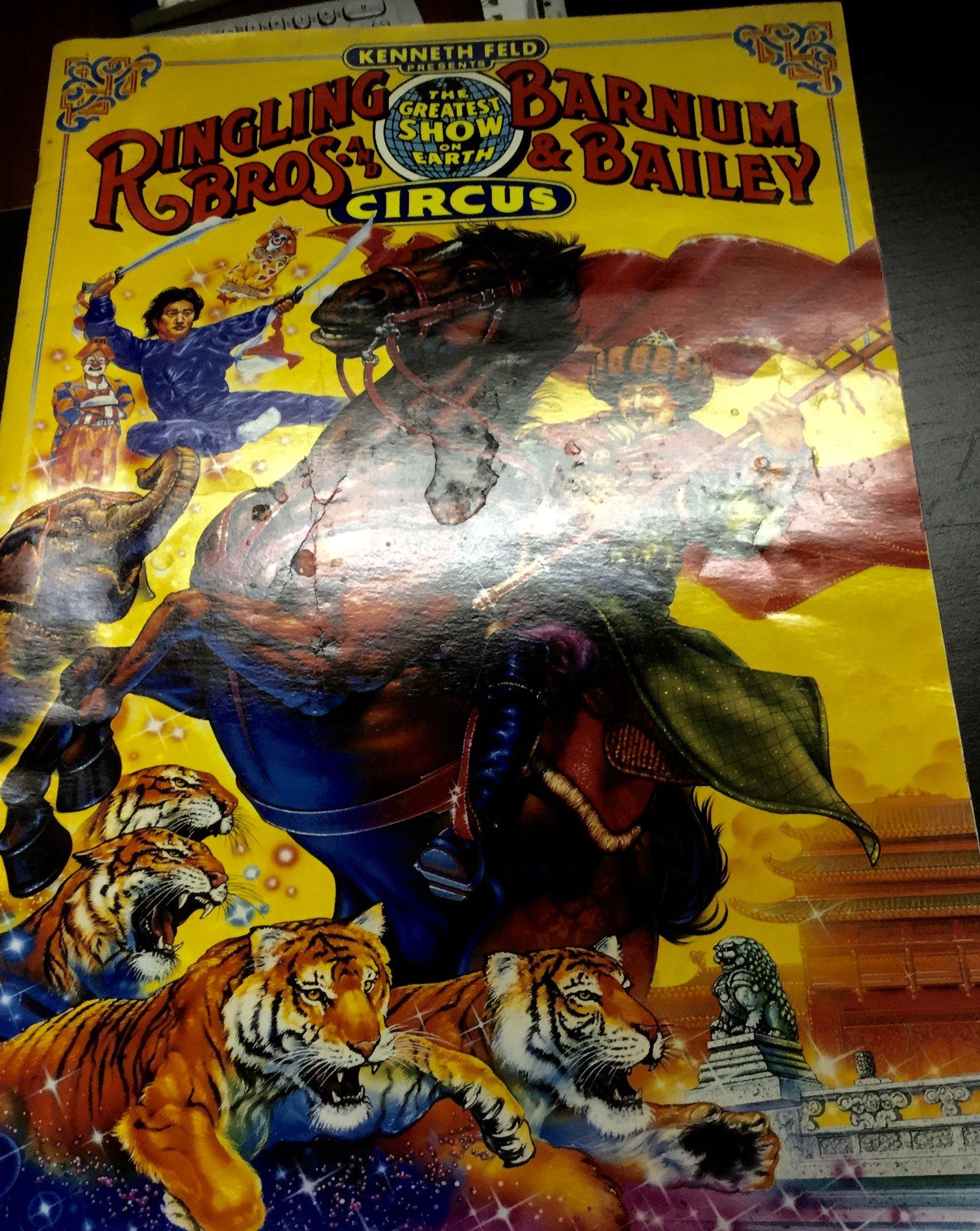 And Barnum & Bailey Circus, 1992, 122nd Edition Sourvenir Program And  Poster: Amazon: Books