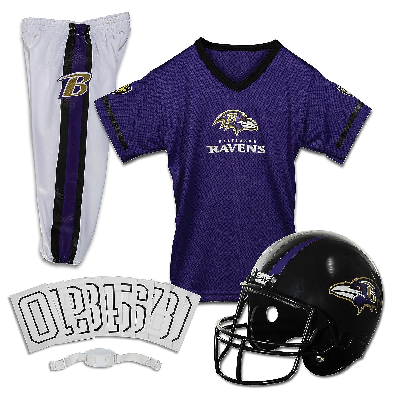 presentando toda la última moda de la calle Franklin Sports Conjunto NFL Deluxe Uniforme Jóvenes. - - - 15701F17, Medium, Baltimore Ravens  Ahorre 60% de descuento y envío rápido a todo el mundo.