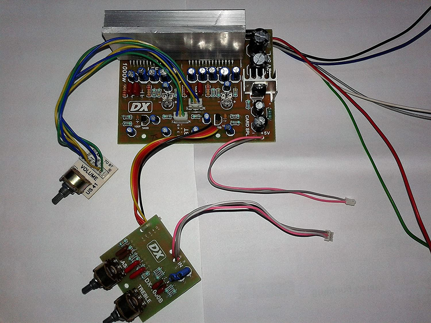 Salcon Electronics 4440 Audio Board, Sanyo IC Philips Capicator, Fully  Assembled Plug and Play