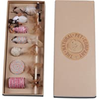 Cat Toys Collection in Beautiful Gift Box. The Ultimate Present for any Cat Lover. These Natural Cat Toys Drive Cats Wild.