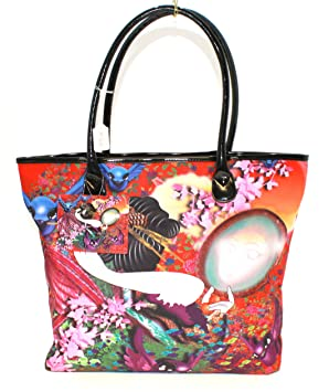 857b9dafdd Image Unavailable. Image not available for. Colour  Ed Hardy Art Tote Bag  ...
