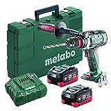 Metabo BS 18 LTX-3 BL Q I 2x 55Ah LiHD kit 18V Brushless 3-Speed Drill/Driver 52Ah Kit