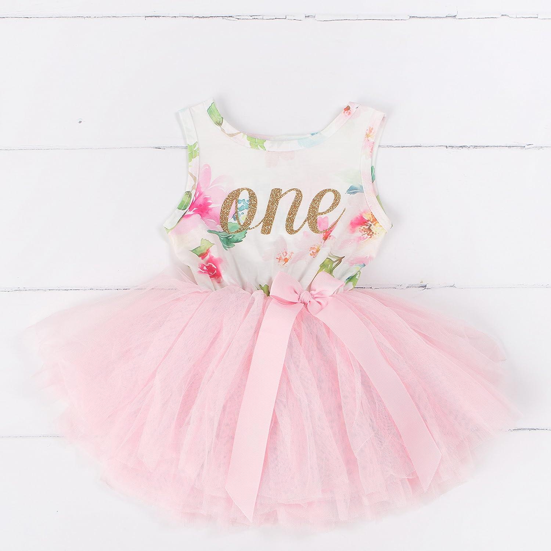 Sleeveless Grace /& Lucille 1st Birthday Dress