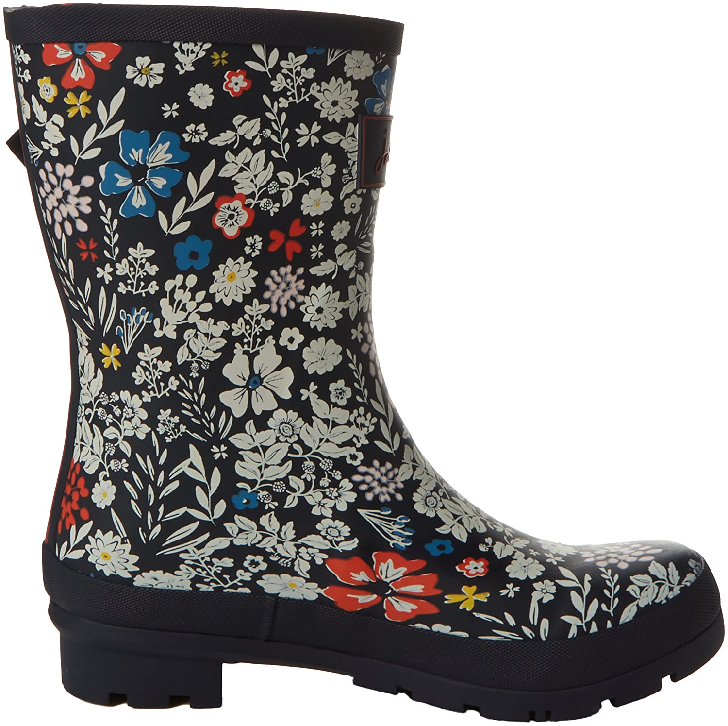 Joules Women's Molly Welly Rain US|French Boot B06XGPBPM7 5 B(M) US|French Rain Navy Ria Ditsy 4374a9